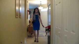 extra clips of my blue dress - not quite a lip sync to In The Garden