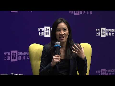 Michelle Kwan in Conversation with NYU Shanghai Vice Chancellor