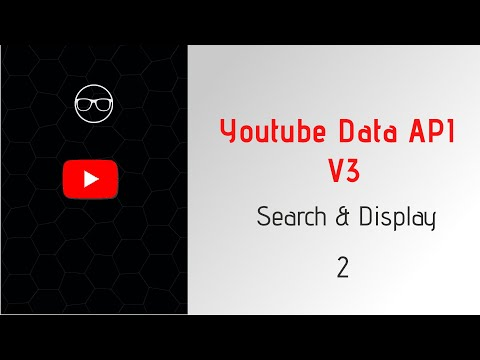 Youtube Data Api V3 : Search And Display