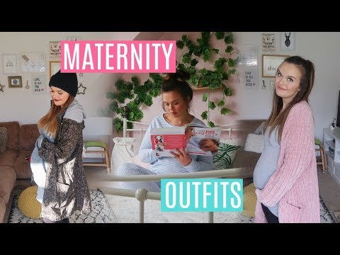 OUTFIT DIARY - WHAT I WORE IN A WEEK - PREGNANCY STYLE + GIVEAWAY WITH KATIE ELLISON