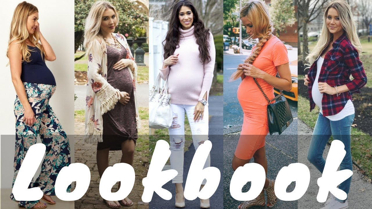 [VIDEO] - Latest Spring Outfit Ideas for Maternity & Pregnant Womens | Spring Lookbook 2018 1