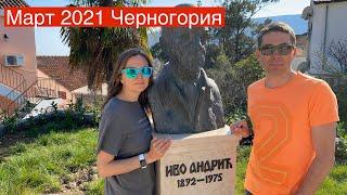 Март 2021 новости Черногории