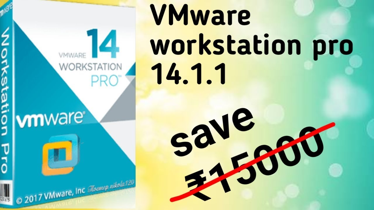 vmware workstation 14 license key youtube
