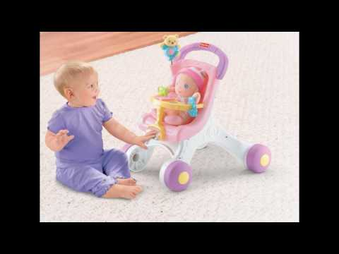 Fisher Price Brilliant Basics Stroll Along Walker - Best Kids Ride On Toys