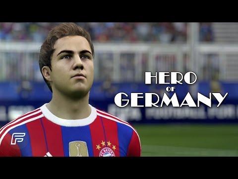 """Mario Götze """"The Hero of Germany"""" (FIFA 15 Tribute)"""