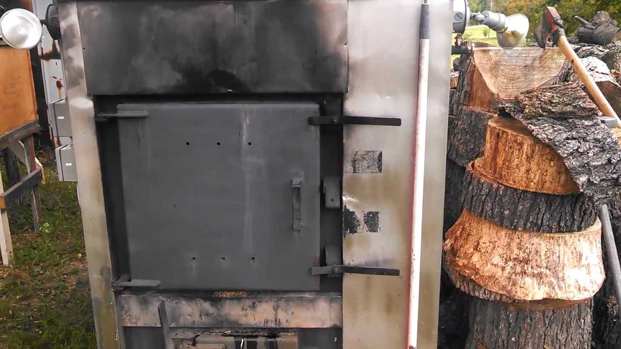 my outside wood stove youtube