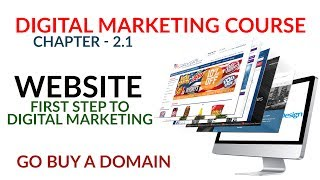 Importance of website |Chapter 2.1| Digital Marketing Course in Hindi