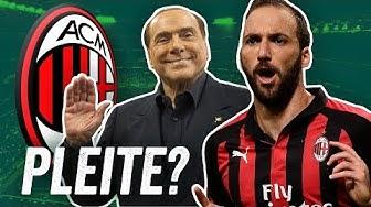 AC Mailand - Warum nach der goldenen Zeit mit Kaká, Pirlo und Gattuso der Absturz kam.