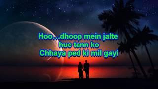 abhi mujh mein kahin karaoke by Paras Bulani