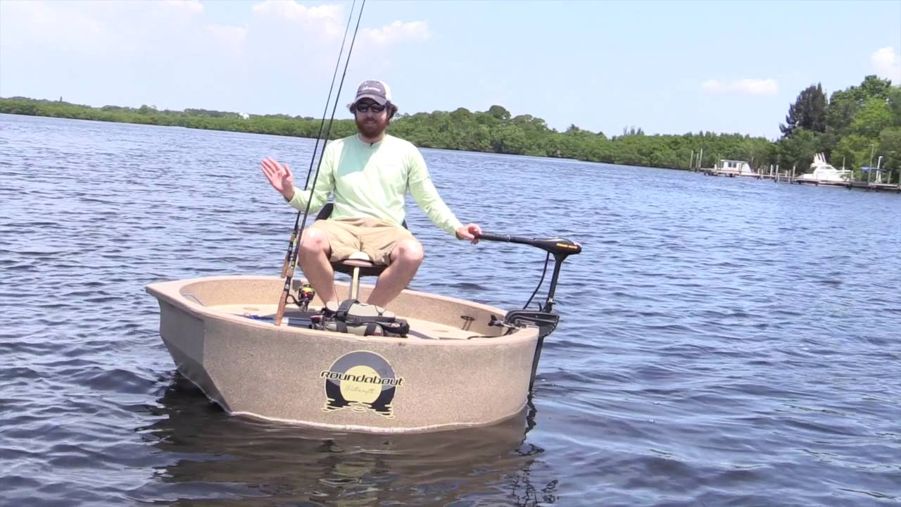 Roundabout Boat The Round Fishing Boat Review Youtube