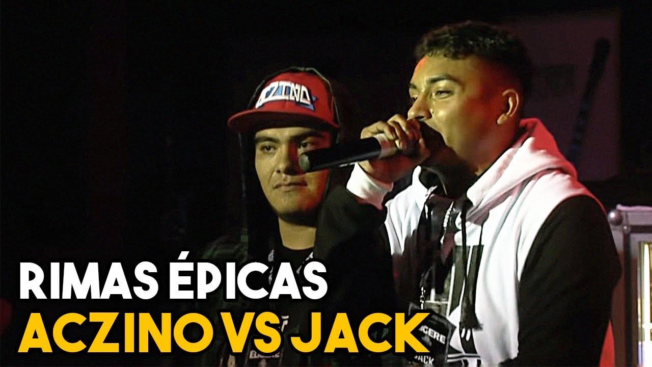 RIMAS ÉPICAS en batallas de ACZINO vs JACK