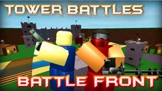 Discontinued, but the game is BACK!   Tower Battles: Battlefront [ROBLOX]