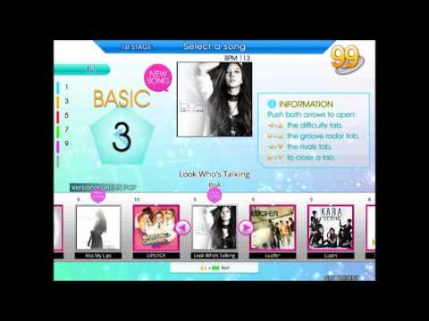 Dance Dance Revolution/StepMania K-POP Song List