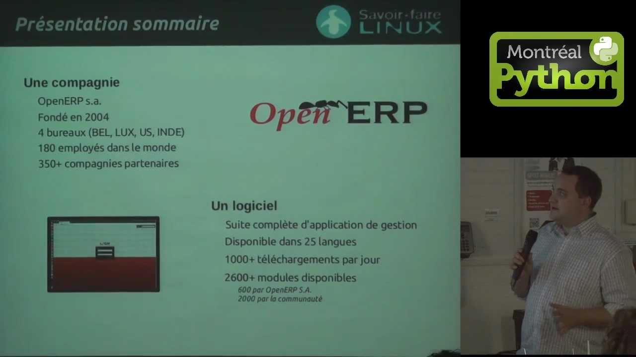 Image from Présentation sommaire de OpenERP