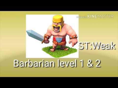 Barbarian Evolution