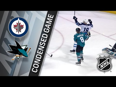 01/23/18 Condensed Game: Jets @ Sharks