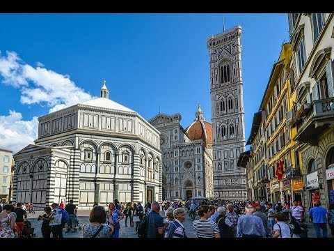 Places To See In ( Florence - Italy ) Piazza Del Duomo
