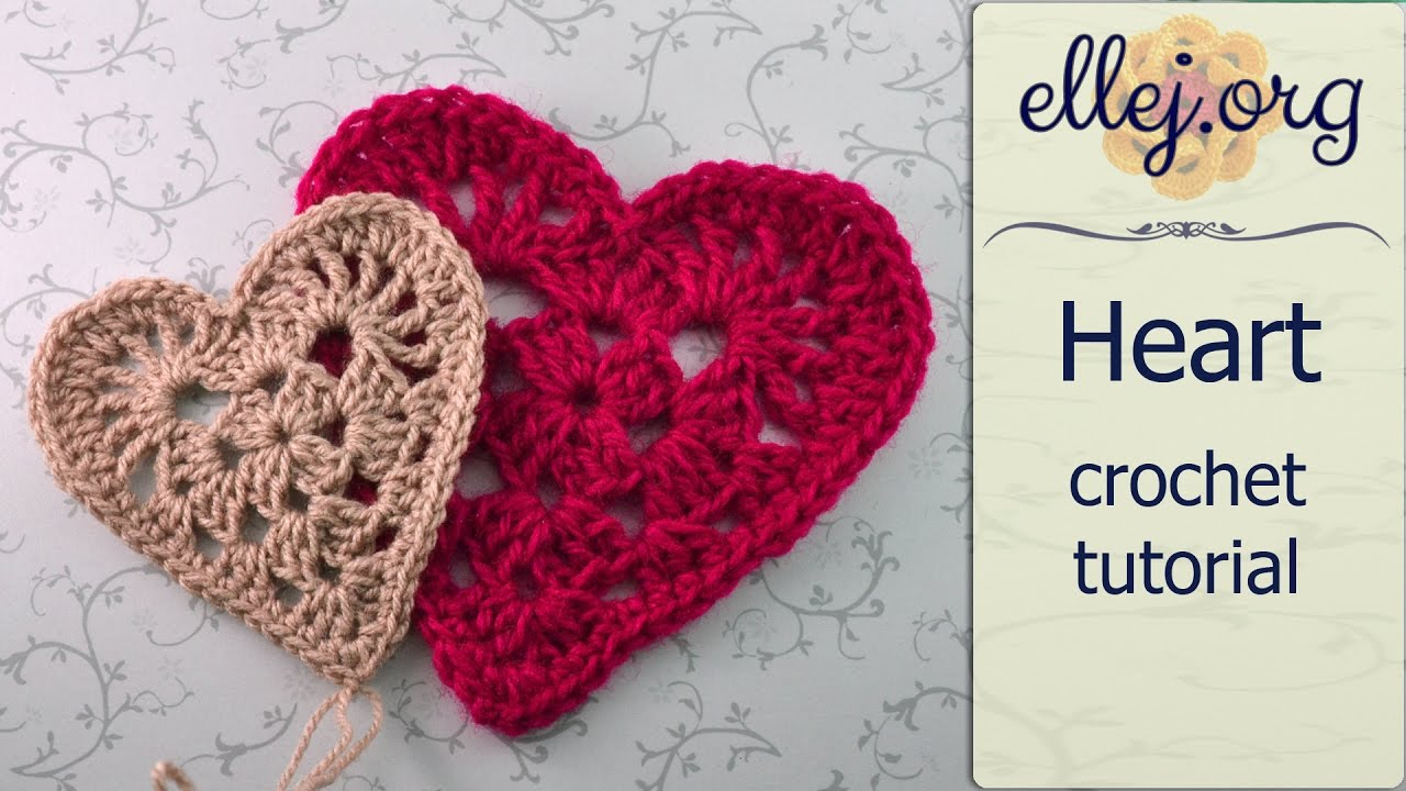 How To Crochet Granny Red Heart Motif —� Free Step By Step Crochet Tutorial