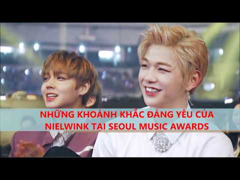 [NielWink/DanHoon] NielWink' s Moment at Seoul Music Awards 25.01.2018
