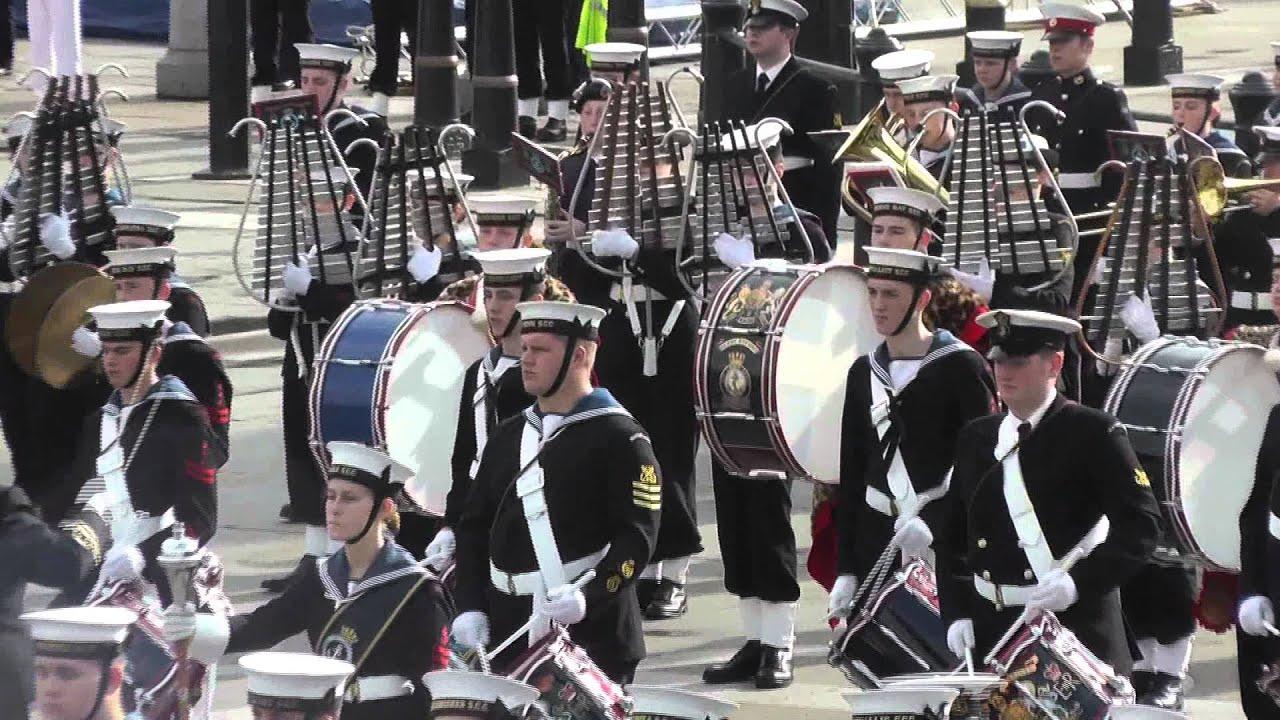 Sea Cadets National Trafalgar Parade 2013 - YouTube
