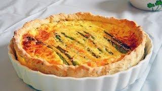 Reel Flavor - Healthy Asparagus Quiche
