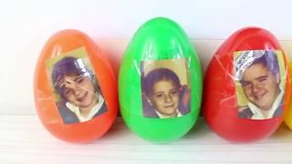 Sürpriz Yumurtalar Açıyoruz Eğlenceli Oyunlar