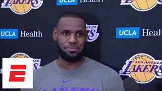lebron james on playing in preseason tha carter v and giving back to the community espn