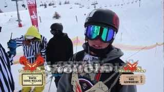 S.K.A.T.E. on Snow  : Torin Yater Wallace VS Gus Kenworthy - SEMI FINALS - VARS TOURNAMENT
