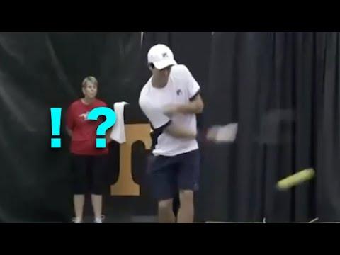 サーブ テニス アンダー