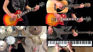 Download Civil War Guns N' Roses Guitar Bass Piano Drum Cover MP3 song and Music Video