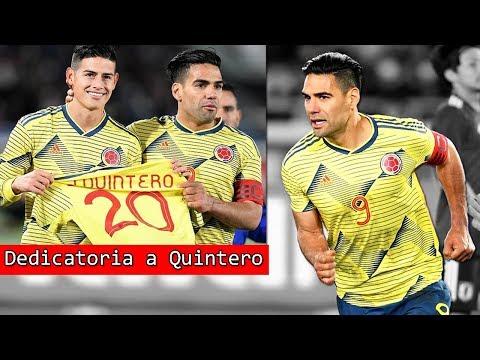Gol de FALCAO y dedicatoria a JUAN FERNANDO QUINTERO con James Rodriguez | Resumen