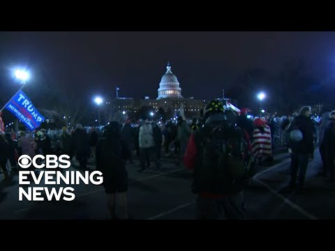 America marks unprecedented day in politics after rioters swarm Capitol