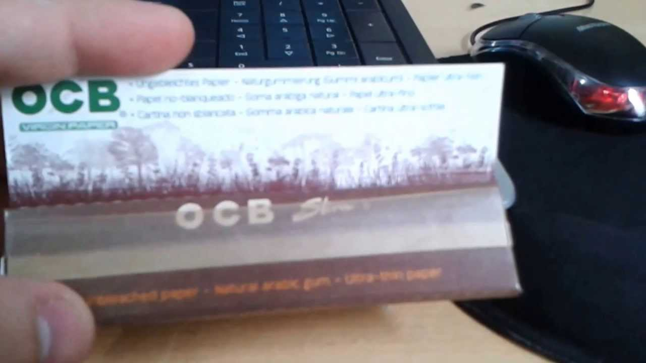 ocb - virgin paper slim  link420