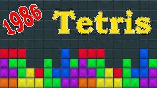 Tetris. 1986 г. / Лучшие игры всех времён