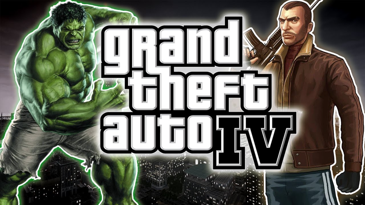 GTA 4 : Hulk MOD!
