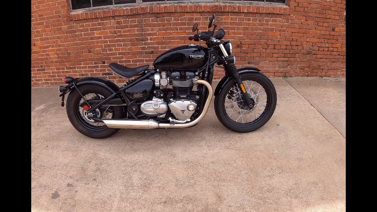 Ride and Review of Triumph Bonneville Bobber
