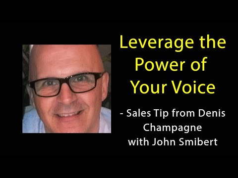 How to leverage the power of your 'Voice' - Denis Champagne (Talking Sales 288)