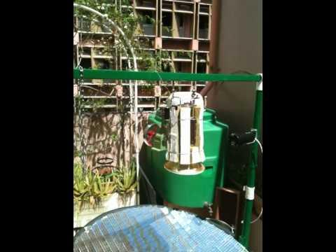 machine à vapeur solaire Guadeloupe