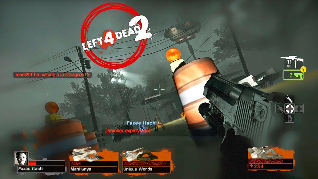 Left 4 Dead 2 Mutación: Los 4 Taqueros Locos #LIVE -  Cold Stream Expert Co-Op (EN DIRECTO)