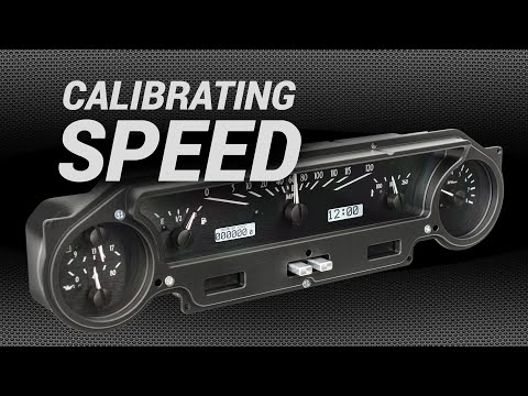 How To Calibrate Speed On Dakota Digital Instruments