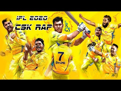 Rap - Chennai Super Kings | CSK Anthem | IPL 2020
