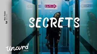 Max Styler - Secrets (Lyrics Lyric Video) feat. CXLOE