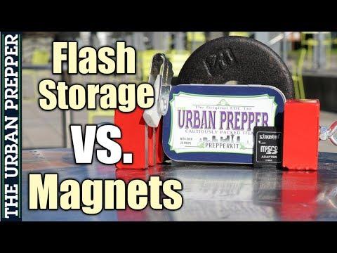 Can A Magnet Erase Flash Memory? (e.g., SD Card, USB Flash Drive)