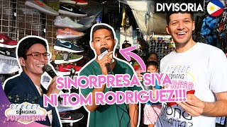 ASKING PEOPLE TO SING IN DIVISORIA! FT. TOM RODRIGUEZ