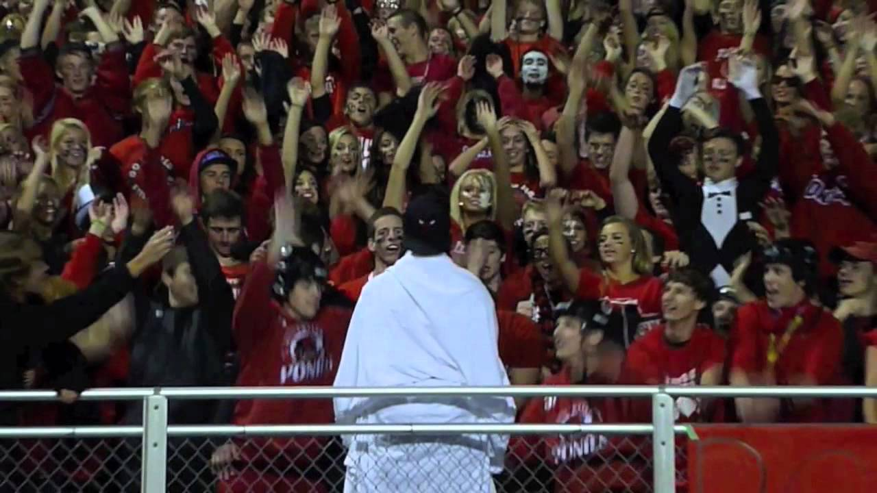 Like Parting Of Red Sea Madison Lakes >> Stillwater Homecoming 2012 Moses Parting The Red Sea Youtube