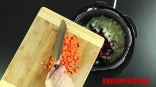 рецепты от redmond жаркое мультиварка rmc m4504