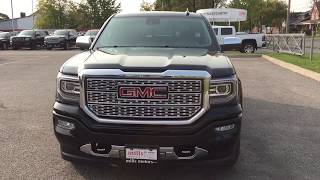 2018 GMC Sierra 1500 Denali 6.2L 22 Inch Wheels 3 Way Power Running Boards Oshawa ON Stock #180039