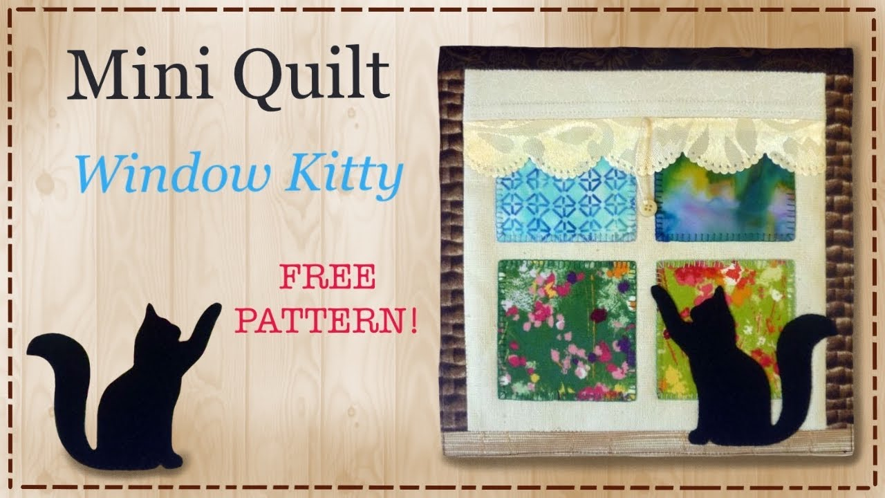 Cat Applique Patterns Free