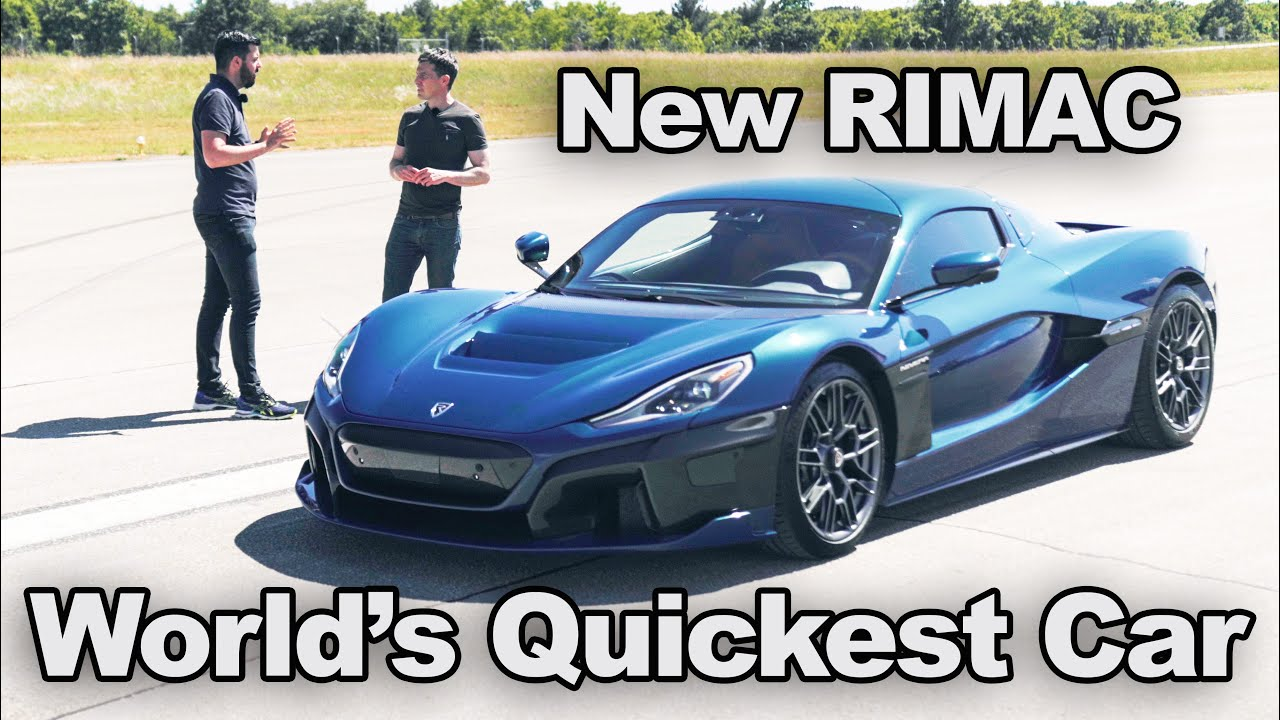 New 2000hp Rimac Nevera: see why it's the quickest 1/4 mile car in the world! REVIEW