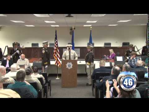 01/05/2014 Nye County Sheriff Change in Command